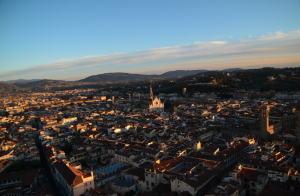 View of Florence from the top of the Duomo!