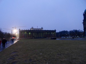 Lustgarten, where Hitler delivered many of his speeches