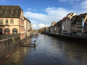 Picturesque Strasbourg, France: home to the European Parliament!