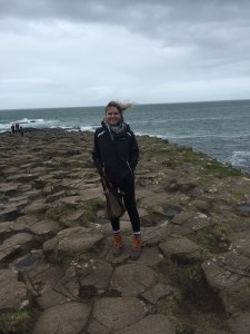 At Giant's Causeway