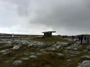 The Burren- stone field with stone age monuments