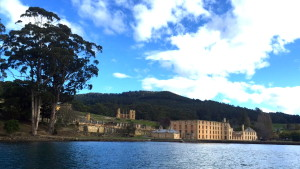 View of Port Arthur from the water