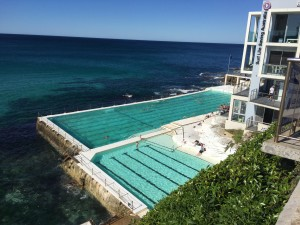 New saltwater pool (Bondi)